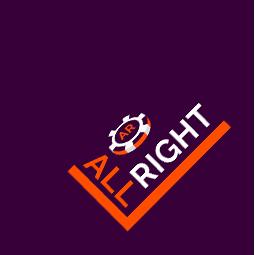 Онлайн казино All Right логотип