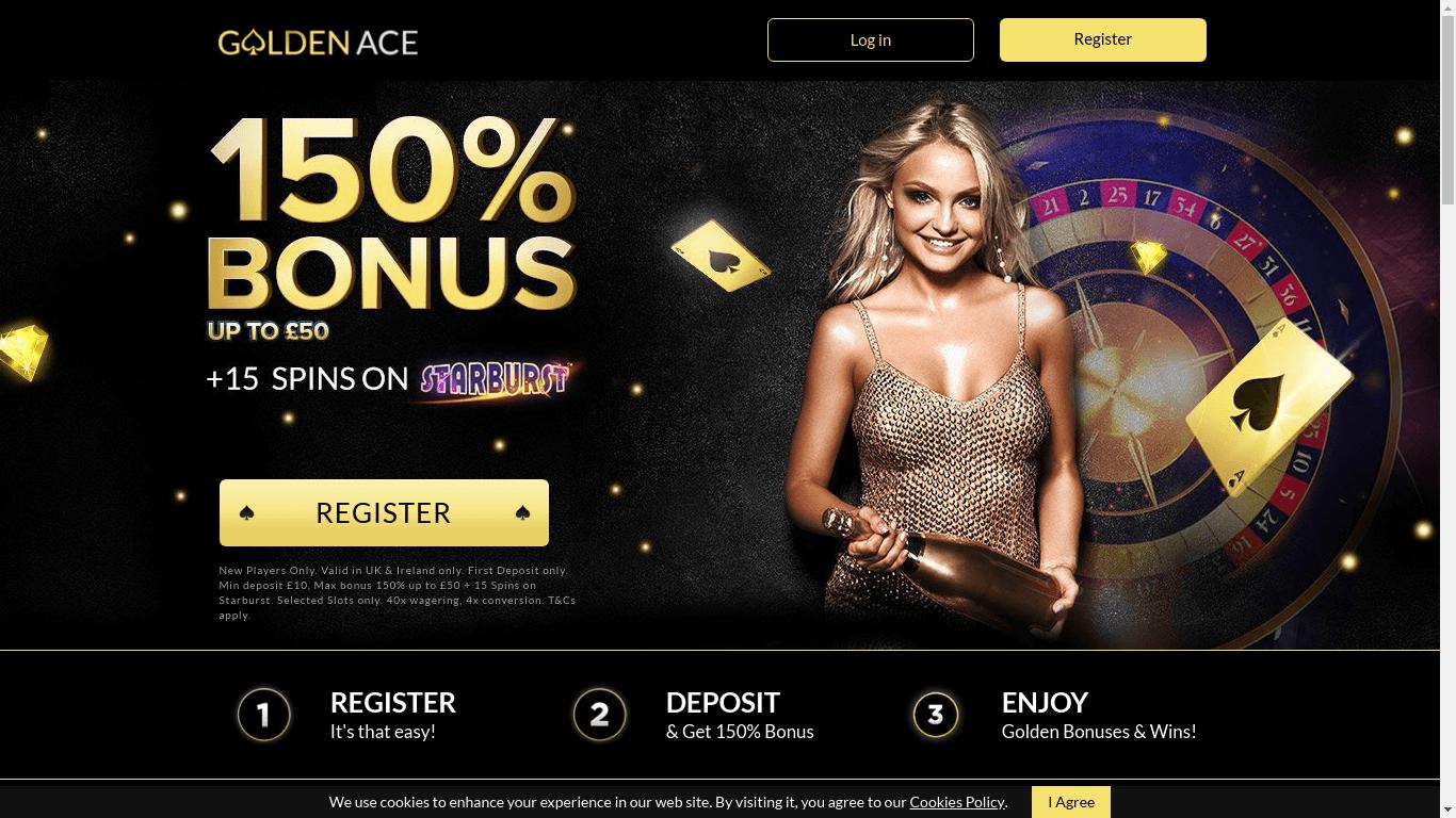 Golden Ace Casino - Официальный сайт